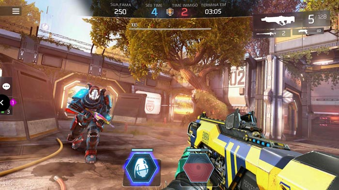Best free games for Android, Shadowgun Legends.