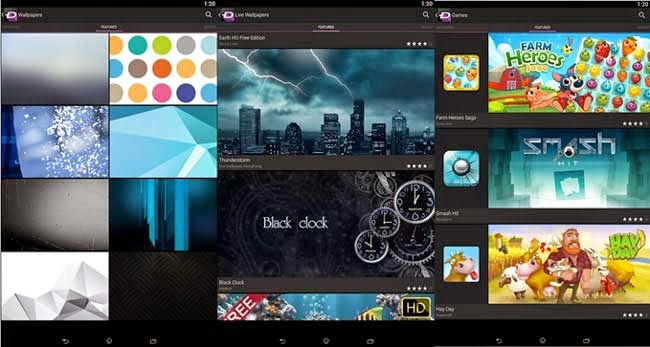 Melhores aplicativos para tablet Android ZEDGE Ringtones & Wallpapers.