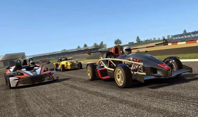 Real Racing 3, best free Android game.