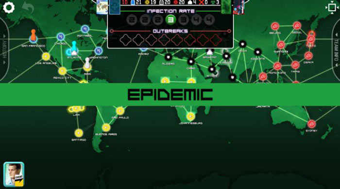 Jogos mais difíceis para Android, Pandemic: The Board Game.