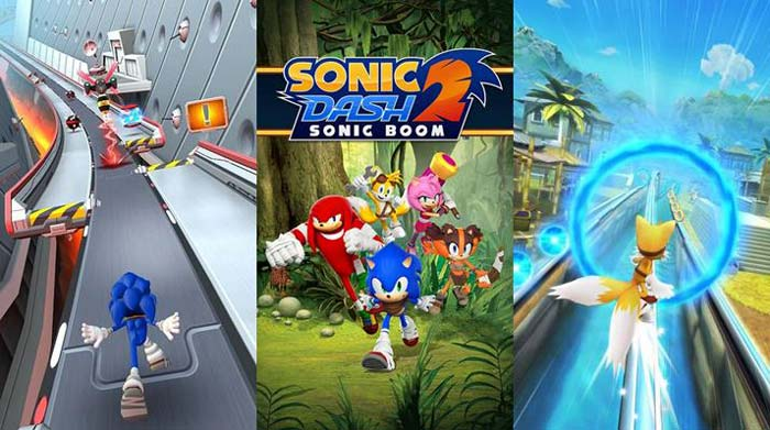 Melhores jogos Android tipo Temple Run, Sonic Dash 1 & 2.
