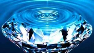 """La miracolosa """"acqua diamante"""""""