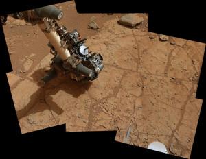 Curiosity si prepara all'utilizzo del trapano su Marte
