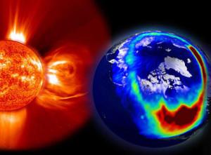 Caos sulla Terra per forti tempeste solari nel 2013