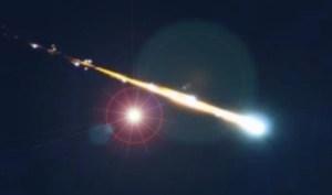 Ufo intercetta meteorite sulla Russia evitando la catastrofe