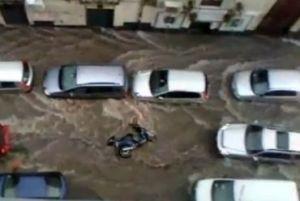 Nubifragio a Catania: bomba d'acqua in città