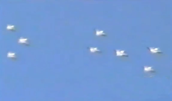 Flottillas Ufo avvistata in Messico
