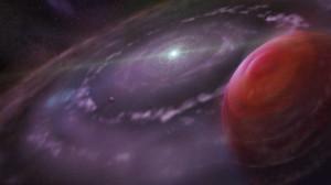 Acqua intorno a un pianeta esterno al Sistema Solare