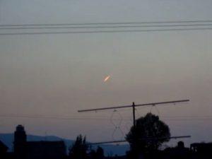 Messico: un meteorite solca i cieli pochi minuti prima del terremoto