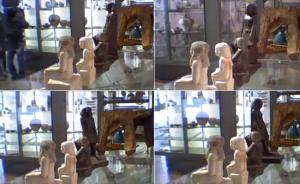 Il mistero della statuetta egizia che si muove da sola
