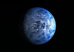Un Pianeta extrasolare blu come la Terra scoperto da Hubble