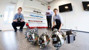 Un serpente robot su Marte in aiuto dei rover