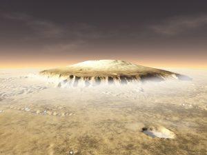 Scoperto un supervulcano su Marte