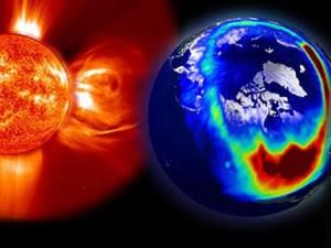Tempesta magnetica sul Sole, linee elettriche a rischio blackout