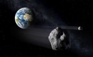 Passaggio ravvicinato di tre asteroidi vicino alla Terra