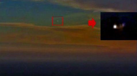 Latina: ufo staziona sul mare di Sezze Romano