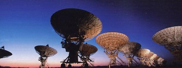 Messaggi radio alieni provenienti da un'altra galassia
