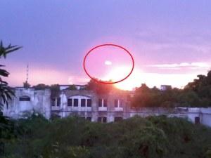 Oggetto non identificato sorvola distretto indiano