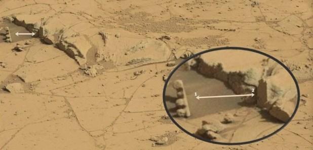 Nuova anomalia su Marte catturata da Curiosity