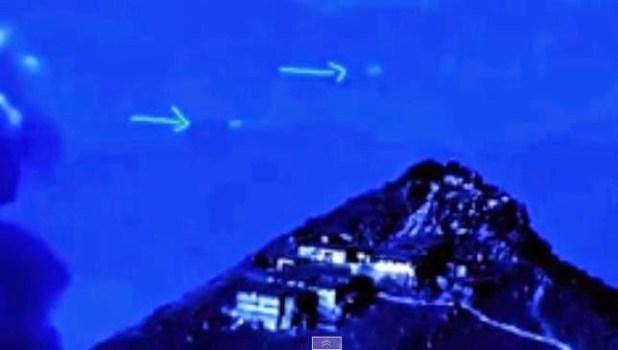 Filmati due Ufo durante l'eruzione del vulcano giapponese Ontake