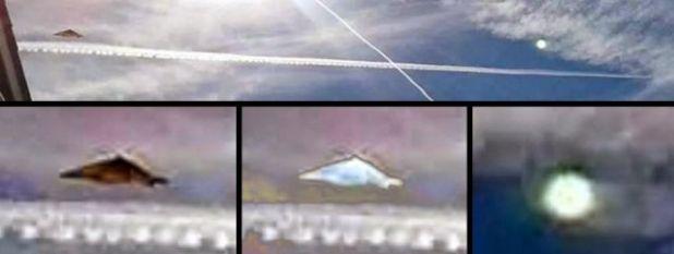 Immortalati due Ufo in uno scatto