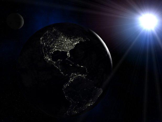 La Terra al buio per tre giorni