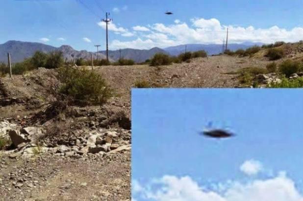 Avvistato Ufo sopra la centrale idroelettrica in Argentina