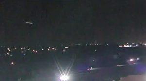Avvistamento Ufo in diretta televisiva