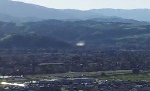 Drone immortala un Ufo