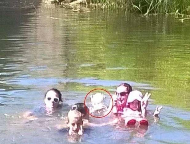 Gita al fiume con lo spettro