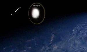 Ufo ripreso dalla ISS