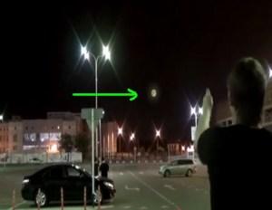 Misteriosa sfera di luce appare in Russia