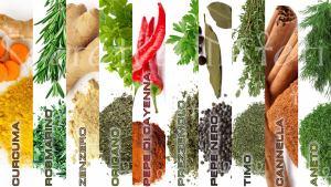 5 spezie e 5 erbe con proprietà anticancro da usare abitualmente