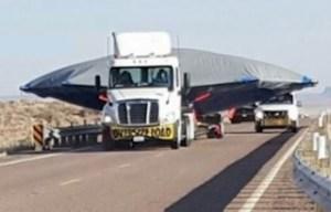 Insolito carico trasportato verso l Area 51