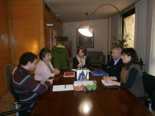 Reunió de coordinació del Consell Comarcal del Segrià amb el CECS