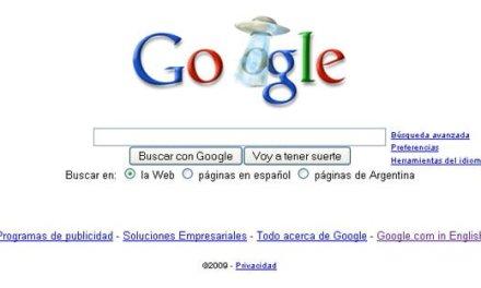 OVNI en el logo de Google hoy 5 de Septiembre