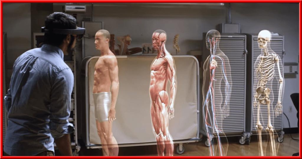 Una facultad de medicina en Cleveland consiguió uno de los regalos más impactantes de todos los tiempos de Microsoft: los hologramas