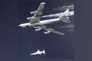 NASA lanza avión hipersónico