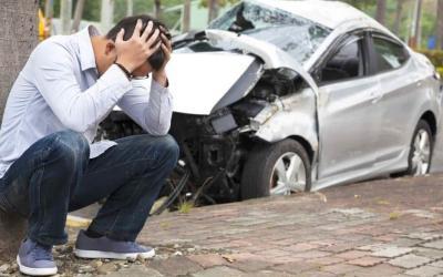 Destrucción Total Por Accidente del Auto