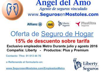 Oferta de Hogar a empleados de Metro