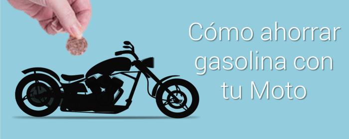 Ahorra gasolina moto