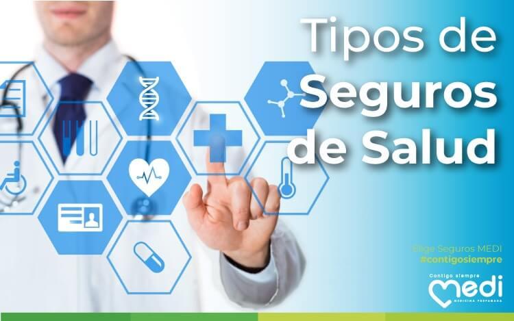 Tipos de Seguros de Salud. Conoce las diferencias entre un seguro y otro. Eso te ayudará a ahorrar dinero. MEDI especialistas en Seguros de Salud localizados en Quito, Ecuador.