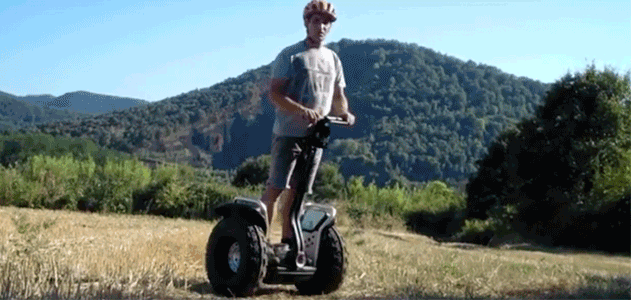 Hartu NATURATOURS for segway bat