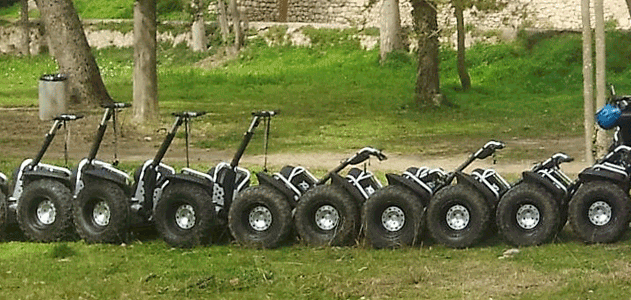 You know that a Segway? NATURATOURS t'ho explica.