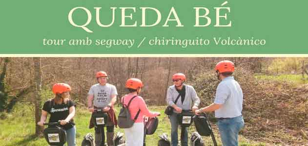 Segway is well with garrotxa naturatours