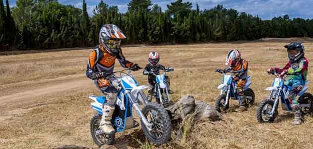 NATURATOURS want to be stars of the future of motorcycling