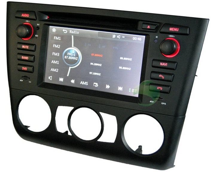 BMW 1 Series E82(manual air-conditioner) DVD player