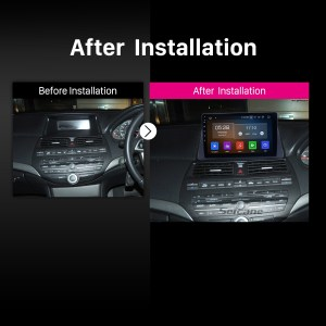 101 Inch HD Touch Screen Android 90 Car Stereo Radio For 20082012 HONDA ACCORD 8 GPS