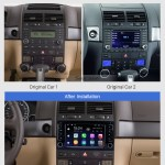 Hd Touchscreen For 2004 2005 2006 2011 Vw Volkswagen Touareg 2009 T5 Multivan Transporter Radio Android 9 0 7 Inch Gps Navigation System Bluetooth Support Carplay Obd2