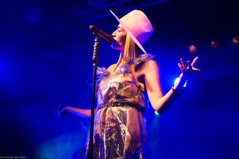 Nina Zilli // Live a Firenze // Modern Art Tour foto di Davide Bisconti